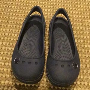 Crocs ballet slipper size 1